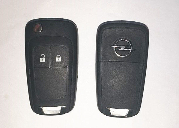 Plastic Material Vauxhall Car Key 2 Buttons Opel Remote Key 13271922 OEM Available