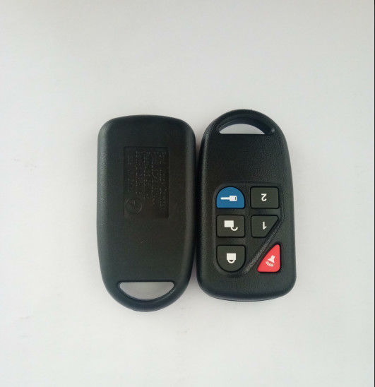 Plastic 433 Mhz Ford Remote Key 5+1 Buttons Black Color 8L3D-15K601-AA