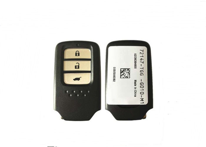 FCC ID 72147-TGG-G010 New OEM Honda Remote Key Fob  3 Buttons 433 Mhz