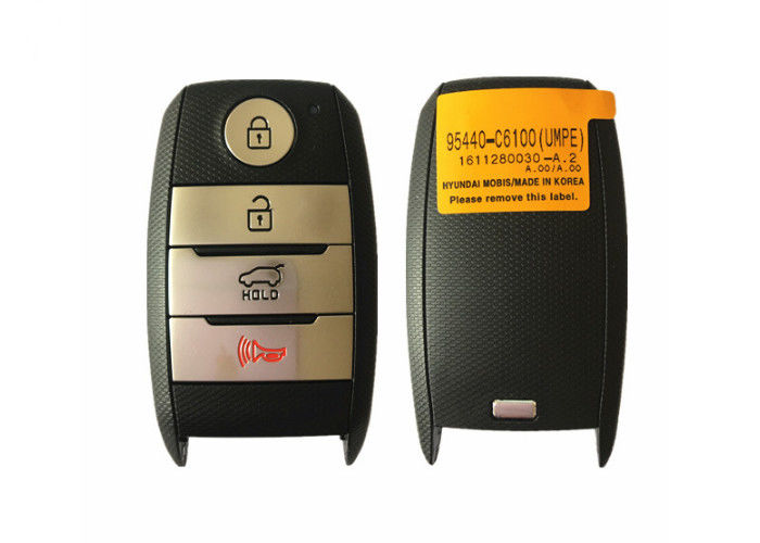 FCC ID 95440-C6100 Sorento Smart KIA Car Key  4 Button 433 Mhz 47 Chip
